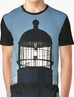 Sun Behind The Lighthouse | Montauk Point, New York  Graphic T-Shirt