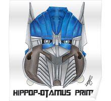 Hippop-otamus Prime Poster