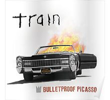 Train Picasso Tour Bulletproof Summer Poster