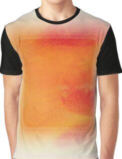 A Simple Sunburst Graphic T-Shirt