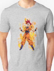 Super Saiyan God Goku T-Shirt