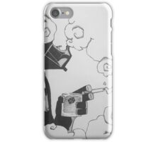 Evil Must.. Relax iPhone Case/Skin
