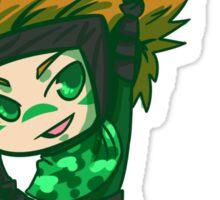 Mint Sasuke Sticker