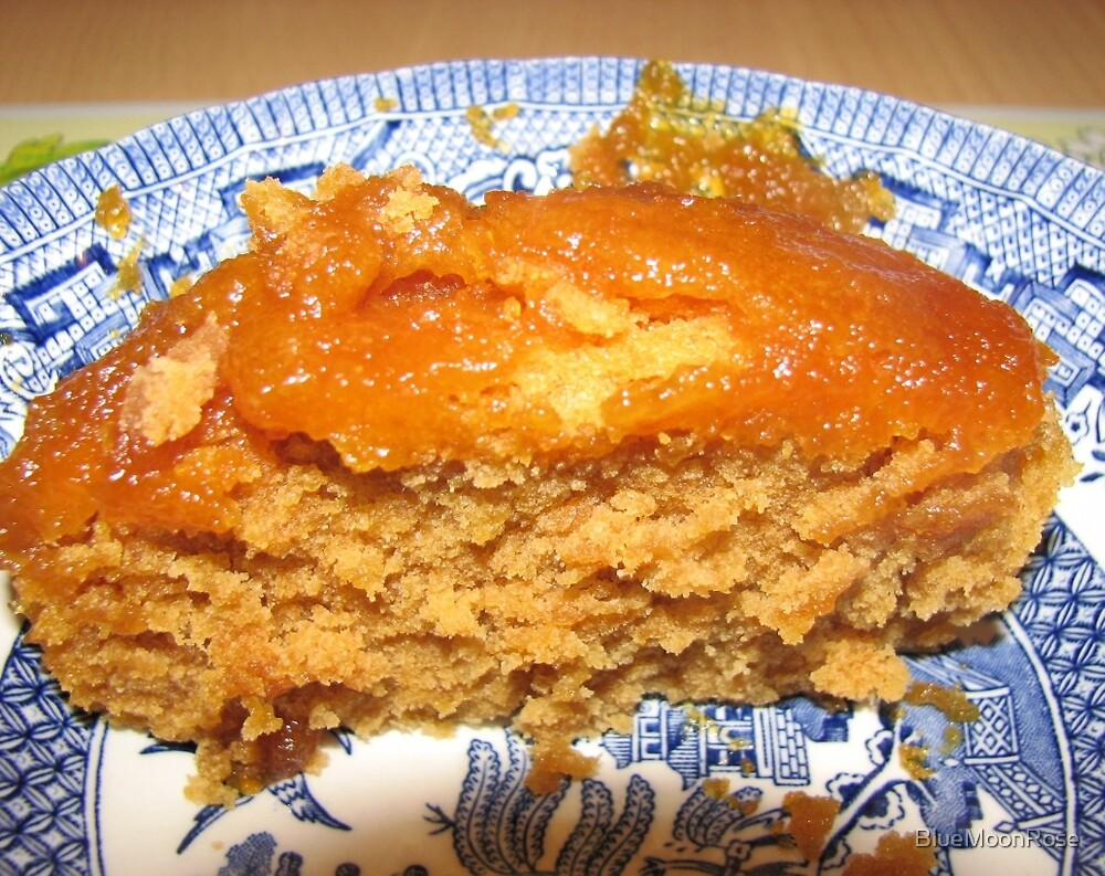 Tickle Your Tastebuds - Treacle Sponge by BlueMoonRose