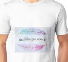 Follow Your Arrow - Watercolor Unisex T-Shirt