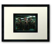 An Official Matrix Photographer, The Mugshot Of Framed Print