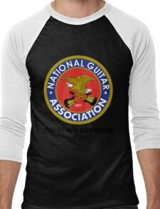 National Guitar Association NGA Men's Baseball ¾ T-Shirt