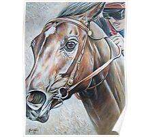 Ivory Pegasus Poster