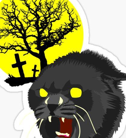 Pet Sematary - Church - Stephen King Sticker