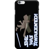 Movies - she has awakened iPhone Case/Skin