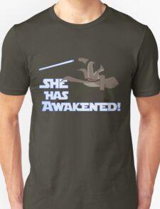 Movies - she has awakened Unisex T-Shirt