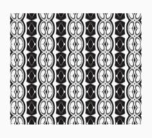 Dividing Cells Black and White Pattern One Piece - Long Sleeve
