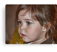 Little Miss Mia Canvas Print