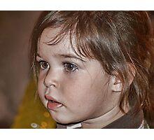 Little Miss Mia Photographic Print