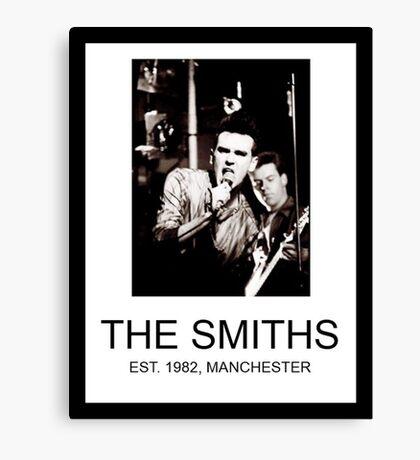 Da Smiths  Canvas Print