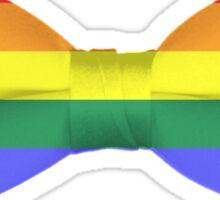 Rainbow Pride Bow-tie Sticker