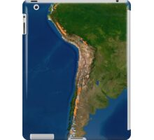 Glaciers in regions of South America. iPad Case/Skin