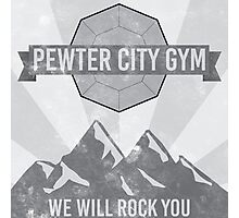 Pewter City Gym Photographic Print