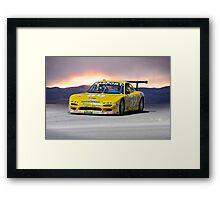 SCCA Mazda GT3 Framed Print