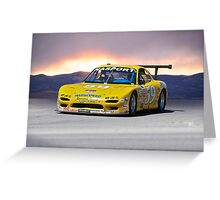 SCCA Mazda GT3 Greeting Card