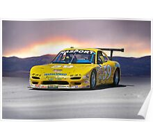 SCCA Mazda GT3 Poster