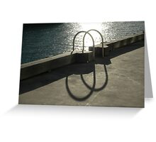 Solar Hoops @ Walsh Bay, Sydney, Australia 2006 Greeting Card