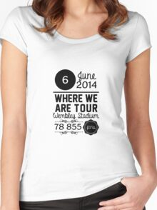 6th June - Wembley Stadium WWAT Women's Fitted Scoop T-Shirt