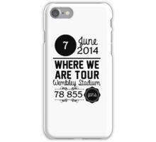 7th June - Wembley Stadium WWAT iPhone Case/Skin