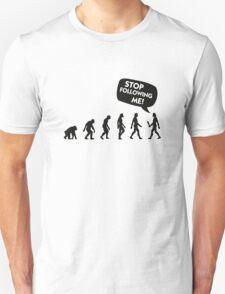 The Evolution of a stalker T-Shirt