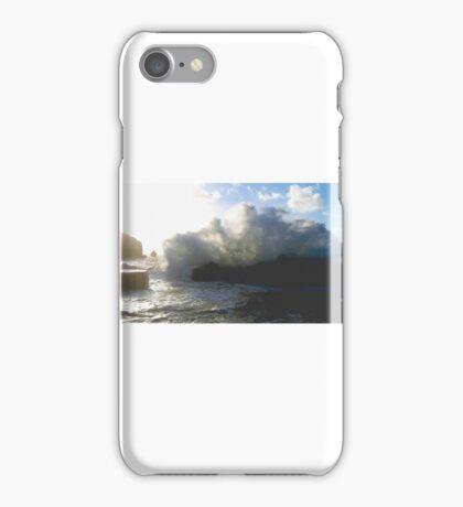 Huge wave smashed into Mullion cove iPhone Case/Skin