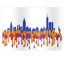 New York City, New York skyline - Gaugan Poster