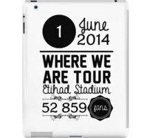 1st June - Etihad Stadium WWAT iPad Case/Skin