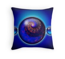 My Bubbles r Your Bubbles Throw Pillow