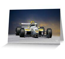 SCCA Formula Atlantic FA Greeting Card