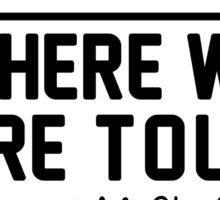 3rd June - Murrayfield Stadium WWAT Sticker