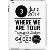 3rd June - Murrayfield Stadium WWAT iPad Case/Skin