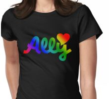 Ally Womens Fitted T-Shirt