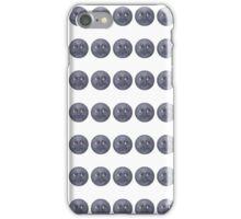 Moon Emoji Pattern 2 iPhone Case/Skin