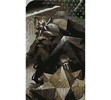 Male Dwarf Tarot Card Photographic Print