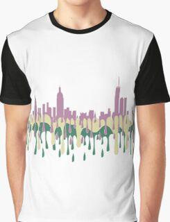 New York City, New York skyline - PCG Graphic T-Shirt