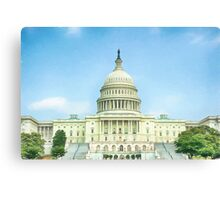 Capitol Idea  (GO5) Canvas Print