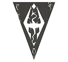 Morrowind Grunge Photographic Print