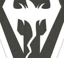 Morrowind Grunge Sticker