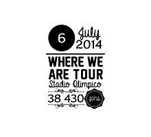 6th July - Stadio Olimpico WWAT Photographic Print
