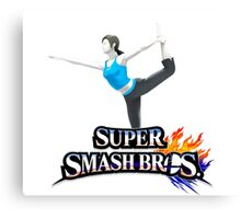 wii fit trainer Canvas Print