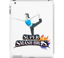 wii fit trainer iPad Case/Skin