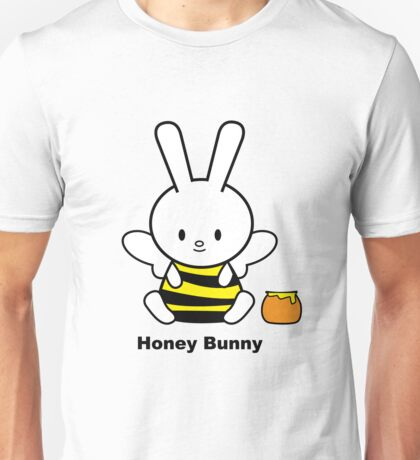 I Love You Collection: Honey Bunny Unisex T-Shirt