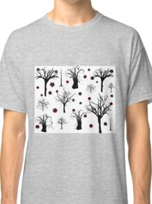 Red and Black Forest Classic T-Shirt