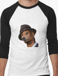Snoop Doge Oil Paint Style Men's Baseball ¾ T-Shirt