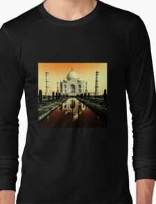 Beautiful Taj Long Sleeve T-Shirt